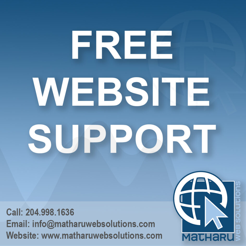 free website support